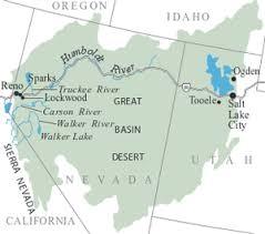 california map desert region great basin desert