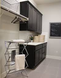 White Cabinets For Laundry Room Interior Simple And Chic Laundry Room Cabinets Bring A