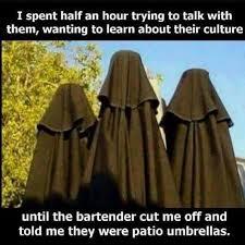 Burka Meme - funny islam muslim burka fail just because pinterest