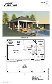 28 pool house plans free house plans with pool