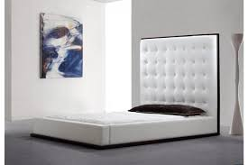 Padded Bed Headboard by Bedroom Furniture Upholstered Headboard And Footboard White