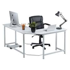 L Shaped White Desk L Shaped Desks For Less Overstock