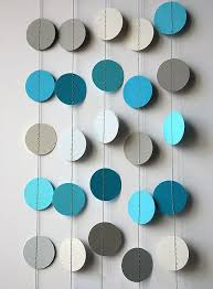 best 25 circle garland ideas on diy paper bunting