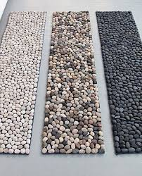 Pebble Bath Rug Do It Yourself Bath Mat Projects Do It Yourself Samples