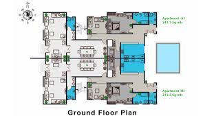 villa plan floor plan residential villa