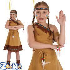Pocahontas Costume Girls Pocahontas Costume Ebay