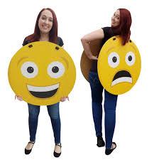 emoji costume size happy sad emoji costume cardboard standup