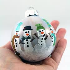simple family made ornaments craft e corner