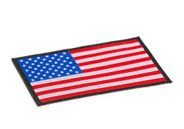 American Flag To Color Usa Flag Patch Color Identification Equipment Clawgear Com