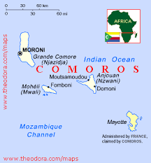 map comoros comoros maps economy geography climate resources