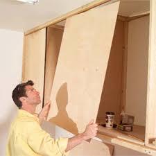 Make Sliding Cabinet Doors How To Make Sliding Cabinet Door Track Functionalities Net