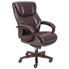 Leather Executive Desk Chair Exciting La Z Boy Executive Office Chair 76 With Additional Gaming