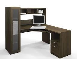 computer table awesome oak corner laptop desk simple brown