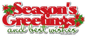 we wish you a merry seasons greetings to all our