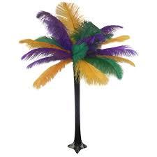 Ostrich Feather Centerpieces Mardi Gras