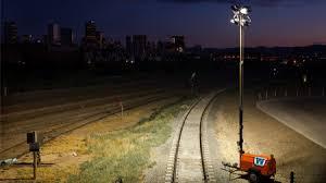 hertz light tower rental highway and roadwork rental equipment
