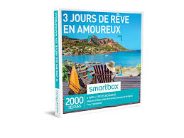 coffret smartbox table et chambre d hote coffret cadeau 3 jours des rêve en amoureux smartbox