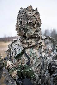 Ghillie Suit Halloween Costume Finnish Defence Forces Sniper Ghillie Suit Finnish