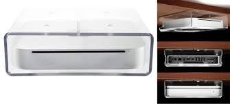 sous le bureau nushelf le mac mini sous le bureau macgeneration