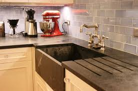 Soapstone Kitchen Sinks Kitchen Counters Durable Easy Clean Soapstone
