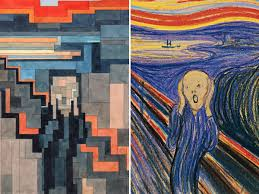 paintings look like they u0027re from old video game business