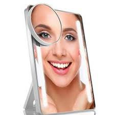 assis led lighted makeup mirror lighted makeup mirror