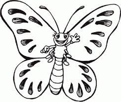imagenes de mariposas faciles para dibujar para dibujar