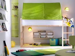 Kids Bed Canopy Tent by Ikea Kura Bed With The Green Tent On Top Underneath Thinking Of