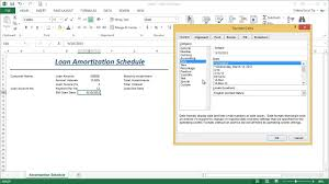 Payment Schedule Excel Template part 1 how to generate a loan amortization schedule template in