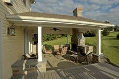 covered patio with fireplace outdoor covered patio with fireplace great addition idea dream