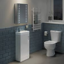 led mirror cabinets