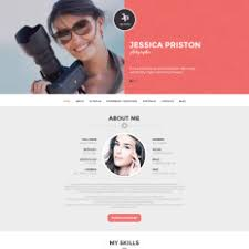 Bootstrap Resume Template Resume Templates 1 Page Responsive Wordpress Resume Themes