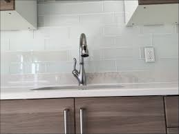 Kitchen  Glossy White Subway Tile Subway Tile Kitchen Backsplash - Small subway tile backsplash