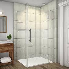 40 Inch Shower Door Aston Avalux Gs 40 In X 72 In Frameless Shower Enclosure In