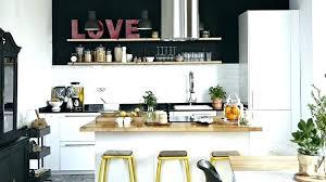 ilot cuisine blanc table ilot centrale cuisine excellent ilot cuisine bois acheter ilot