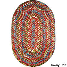 braided rug charisma indoor outdoor oval braided rug by rhody rug 2 x 4