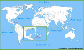 Map Of Puerto Rico And Us by Jamaica Location On The World Map