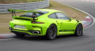 porsche gt3 rs facelifted porsche 911 gt3 rs imagined with 4 2 liter engine