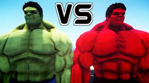 hulk red hulk epic battle
