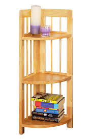 Tall Bookcase With Ladder by Tips U0026 Ideas Ladder Book Shelves Corner Shelves Target Corner