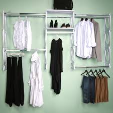 Closet Kit Closet Organizers 8 Foot Kit Kio Storage Llc Small Closet Ideas