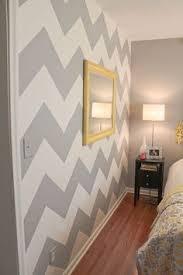 Chevron Bedrooms How To Paint A Chevron Wall I Really Really Really Wanna Zig Zag