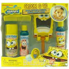amazon com nickelodeon spongebob boys groom u0026 go gift set