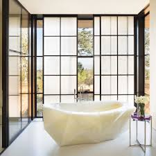 Spa Like Bathroom Designs Gorgeous Faceted Tub Carved From White Onyx Made In Italy