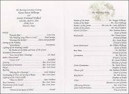 simple wedding program wording best 25 wedding program sles ideas on how to word