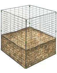 wire compost bin cheap compost bin gardener u0027s supply
