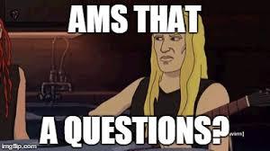 Metalocalypse Meme - question imgflip