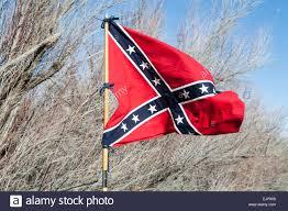 Nm State Flag Confederate Army Flag Civil War Reenactment Near Socorro New