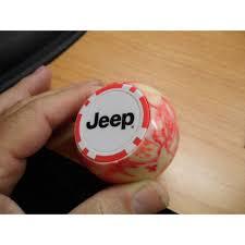 jeep shift knob jeep logo chip pool gear shift knob jeep wrangler