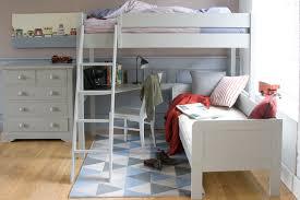High Sleeper With Sofa And Desk Fargo Farleigh Grey High Sleeper With Sofa Bed And Desk